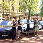 Damenstreichquartett_modern_LA FINESSE_Maserati_Duesseldorf_05