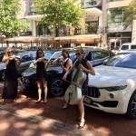 Damenstreichquartett_modern_LA FINESSE_Maserati_Duesseldorf_06