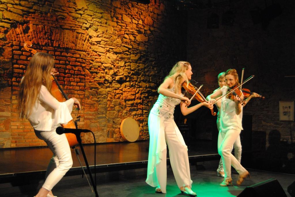 Streichquartett La Finesse Magische Reise Hofgarten 03